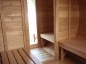 Preview: Outdoorsauna Nr. 1 Innenansicht Top!