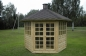 Preview: Holzpavillon mit Grillanlage