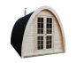 Mobile Preview: Sauna Pod, Gartensauna, Outdoor-Sauna 240 x 400 cm (Bausatz)