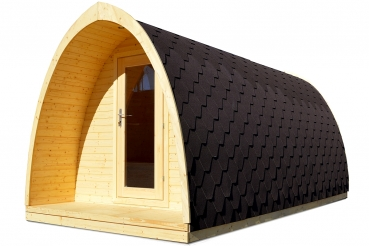 sauna pod oder camping pod in luxuri ser ausf hrung kaufen. Black Bedroom Furniture Sets. Home Design Ideas