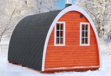 sauna pod oder camping pod in luxuri ser ausf hrung kaufen. Black Bedroom Furniture Sets. Home Design Ideas