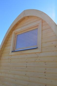 camping pod f r den zelt oder campingplatz mit beleuchtung. Black Bedroom Furniture Sets. Home Design Ideas
