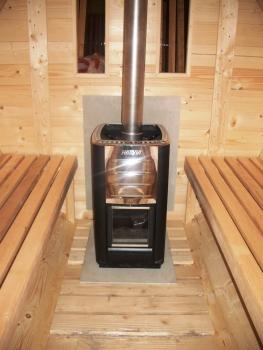 bausatz fasssauna mit saunaraum und umkleideraum ein ofen kann kosteng nstig dazugekauft werden. Black Bedroom Furniture Sets. Home Design Ideas