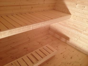 sauna pod f r den garten mit oder ohne ofen. Black Bedroom Furniture Sets. Home Design Ideas