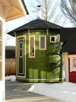 vertikale stehende fasssauna mit oder ohne ofen billig. Black Bedroom Furniture Sets. Home Design Ideas