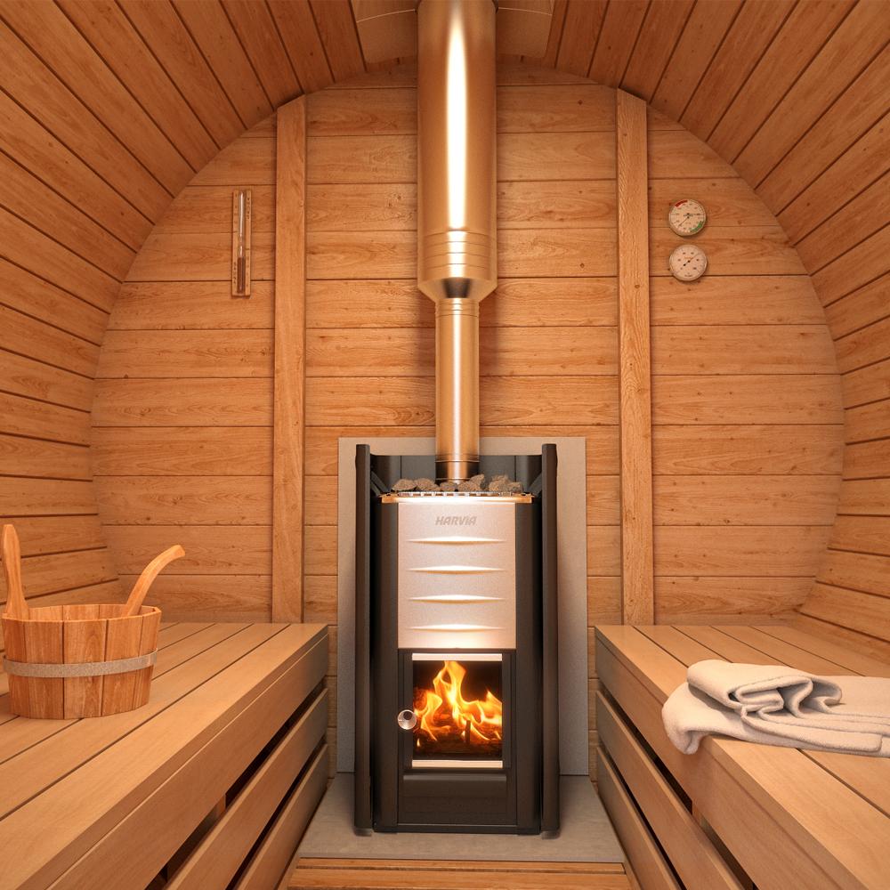 fasssauna mit terrasse zum hinsetzen bausatz. Black Bedroom Furniture Sets. Home Design Ideas