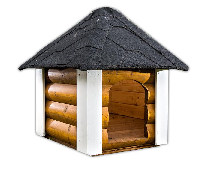 hundeh tte f r den gartenbereich aus robuster fichte. Black Bedroom Furniture Sets. Home Design Ideas