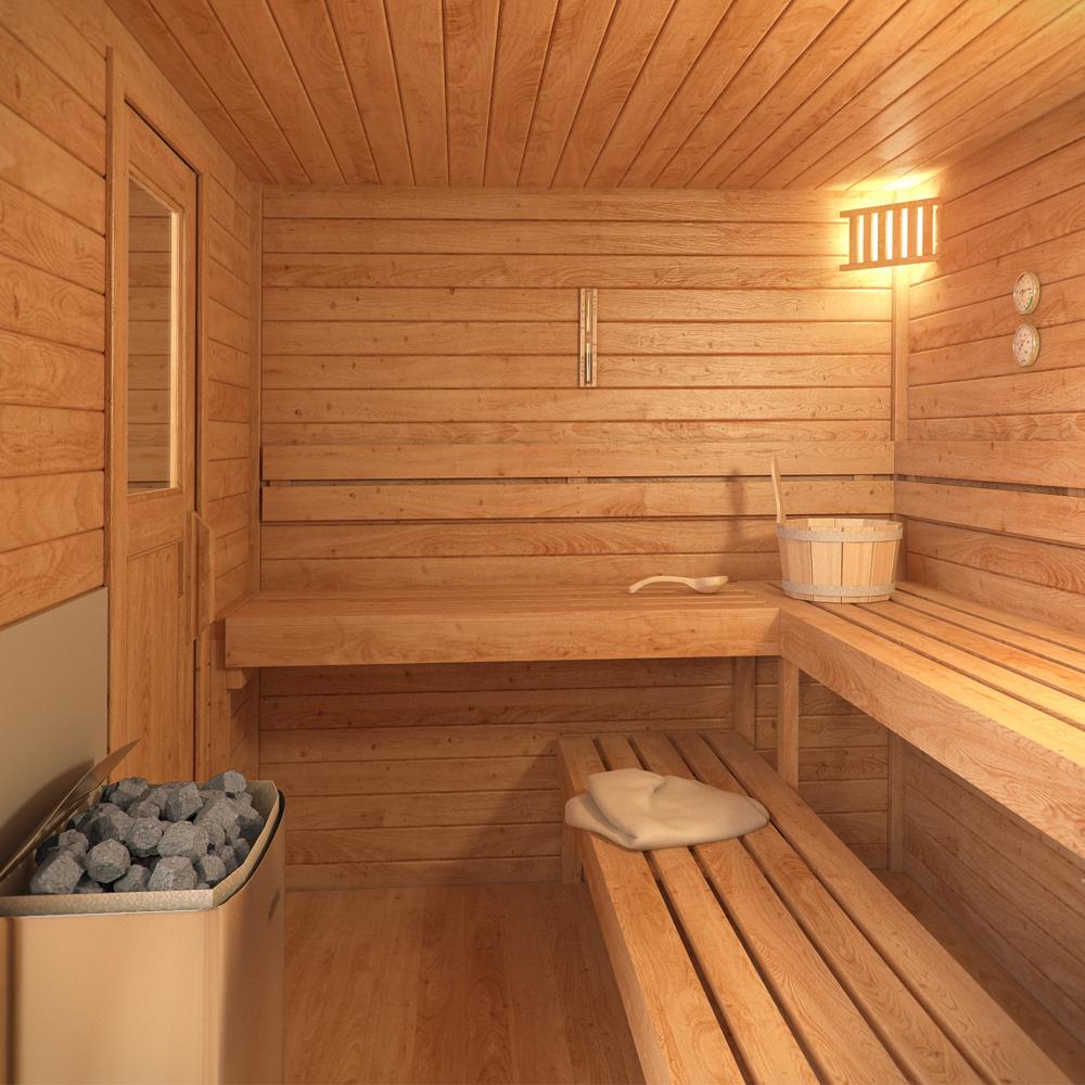 saunahaus paul. Black Bedroom Furniture Sets. Home Design Ideas
