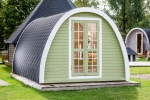 Camping-Pod isoliert
